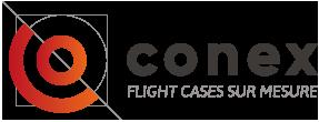 logo conex flight case sur mesure