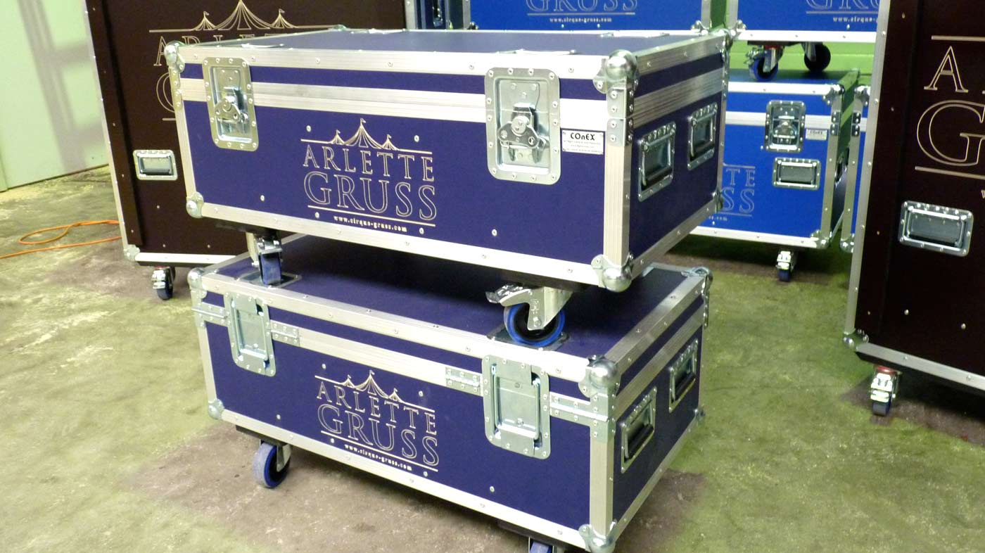 flight case malle conex