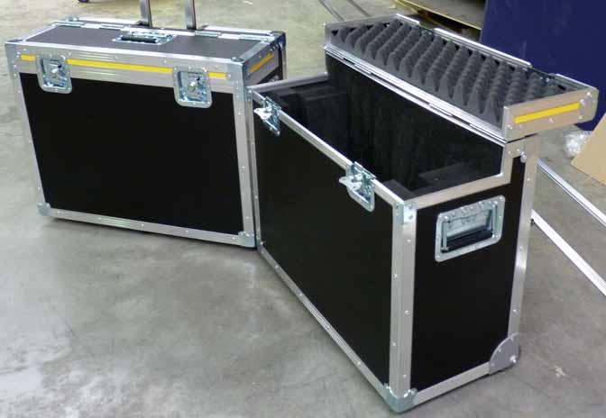 Valise pour écran avec trolley